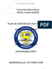 Documento Final Plan de Gestion Hilda Munoz