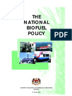 Malaysia Biofuel Policy