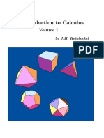 Calculus Volume-1