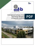 Iiitb Admission Brochure 2014