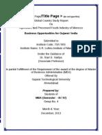 GCSR Formats Revised