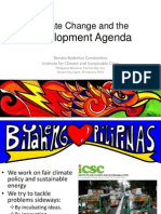 Climate Change and Development Agenda by Red Constantino
