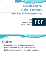 Development, Global Economy and Local Communities by Maitet Diokno