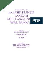 Prinsip-prinsip Aqidah Ahlu Sunnah Wal Jamaah