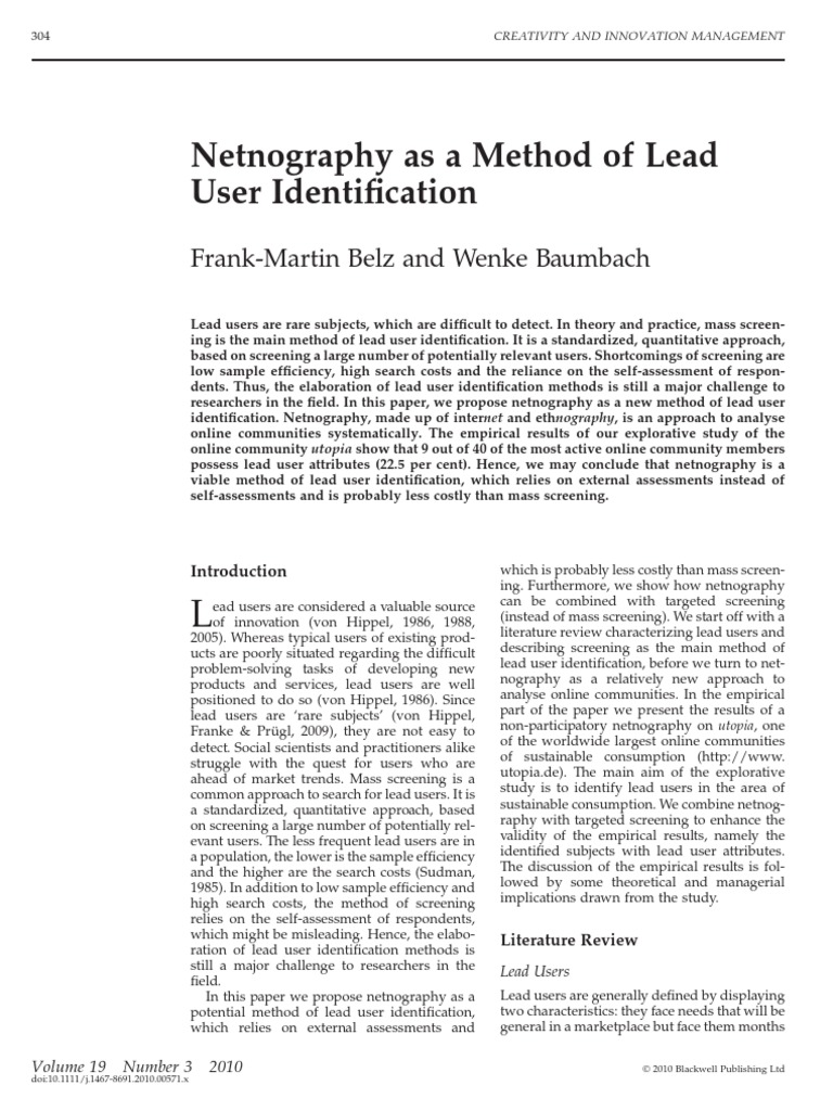 """identification of user community essay Community needs assessment essays: home » essay » community needs assessment """"the needs assessment allow the identification of gaps in services."""
