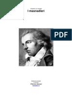 Von Schiller, Friederick - I Masnadieri