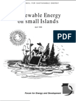 Renewable Energy on Small Islands