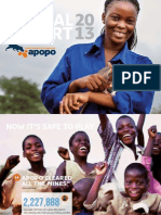 APOPO 2013 Annual Report