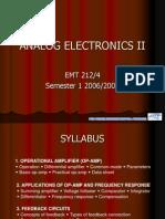 Op Amp Intro