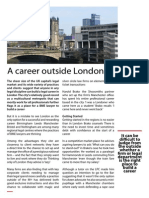 A Career Outside London