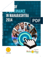 State of E-Governance in Maharashtra 2014