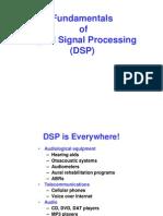 Fundamentals of Digital Signal Processing (DSP)