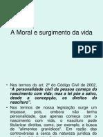 A Moral e o Surgimento Da Vida