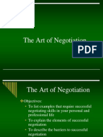ART OF NEGOTIATION.ppt