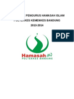 Data Base Pengurus Hamasah Islam 2013-2014