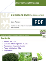 Biofuel and CDM - Multiple Asian Countries