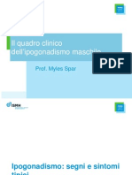 3.Il Quadro Clinico Dell'Ipogonadismo Maschile