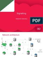 Signalling in GSM.