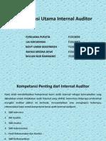 Rmk Pengamen Kompetensi Utama Internal Auditor