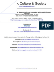 Bell, Vikki, On Speech, Race and Melancholia. an Interview With Judith Butler