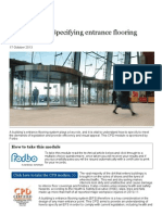 CPD 24 2013_ Specifying Entrance Flooring Systems _ Features _ Building