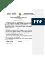Ministerul Sanatatii Ordinul Nr. 269, din 31.03.2014 cu privire la Organizarea si Efectuarea Controlului Treziei