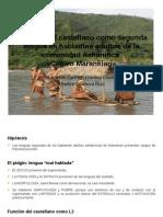 3. Dominio Del Castellano Como Segunda Lengua en Hablantes