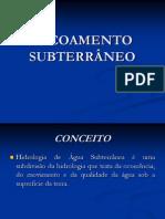 ESCOAMENTO+SUBTERRÂNEO
