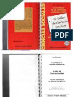 Svarzman, Jose. El Taller de Ciencias Sociales