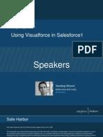 Visualforce in Salesforce1 [Best Practices of Visualforce In Salesforce1]
