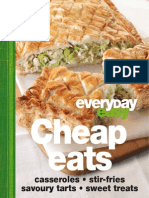 Everyday Easy Cheap Eats - Casseroles, Stir-fires, Savoury Tarts and Sweet Treats