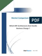 Eval Source - SAP-Microsoft AX-Agresso Architecture Comparison Report