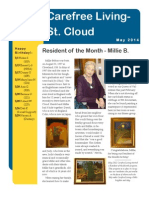 May 2014 Newsletter-St. Cloud Carefree