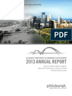 Allegheny Conference – 2013 Annual Report