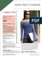 Freepat Ss Cotton Classic Lite Paris Crochet Tunic