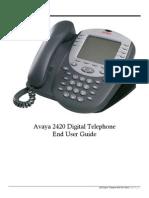 Avaya 2420 User Guide