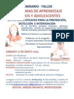 Seminario-Taller Problemas de Aprendizaje en Niños y Adolescentes