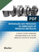 Livro Fabricação de Produtos Metalicos