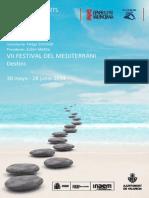 VII Festival Del Mediterrani. P RogramaciÛn - (3 Abril 2014)