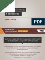 Capture Opportunities In Complexities