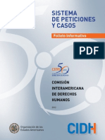 CIDH - Folleto Informativo