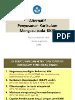 Alternatif Penyusunan Kurikulum Merujuk KKNI LS 2013