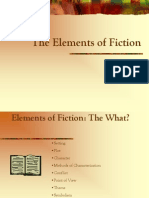 Elements of Fiction (1)