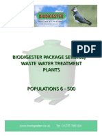 Biodigester Product Catalogue NEW
