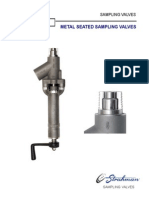 Metal Seated Sampling Valves