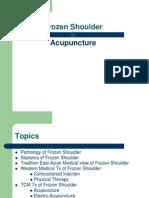 Frozen Shoulder & Acupuncture