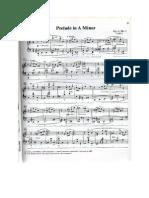 Prelude in a Minor Scriabin