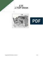 Desk - Roll Top Desk