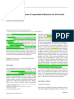 2014 Evaluation of Aluminium Complexation Reaction for Flavonoid Content Assay