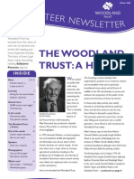 Woodland Trust - Winter 2009 - Volunteer newsletter edition 8